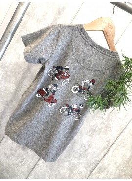 CAMISETA GRIS SCOTTA MOTOS